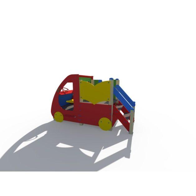 ДИФ 01280 Машинка с горкой Н-750