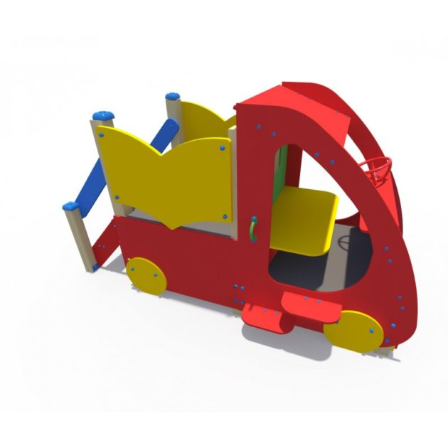 ДИФ 01282 Машинка без горки