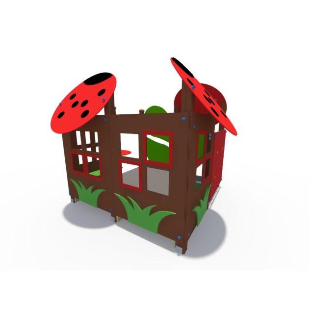 ДИФ 01320 Игровой домик Божья коровка (накладки)