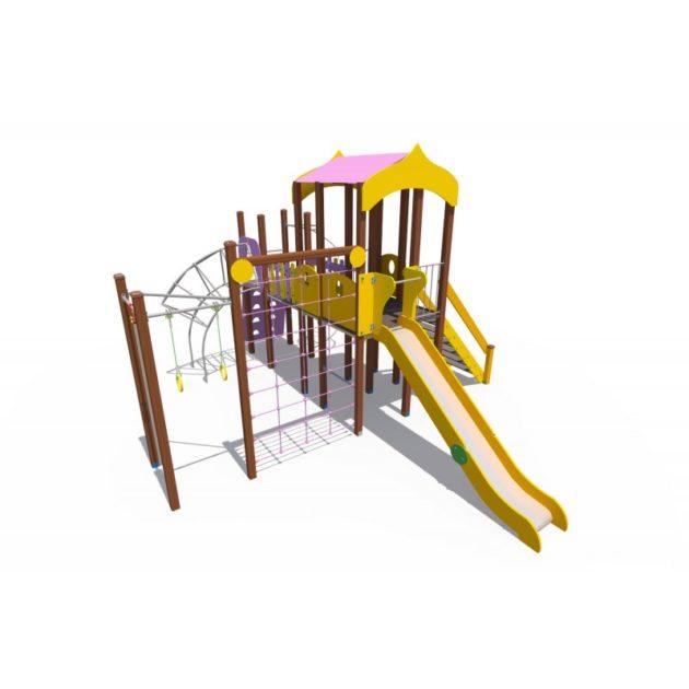 ДИО 08070 Игровой комплекс Дворик Н-1200