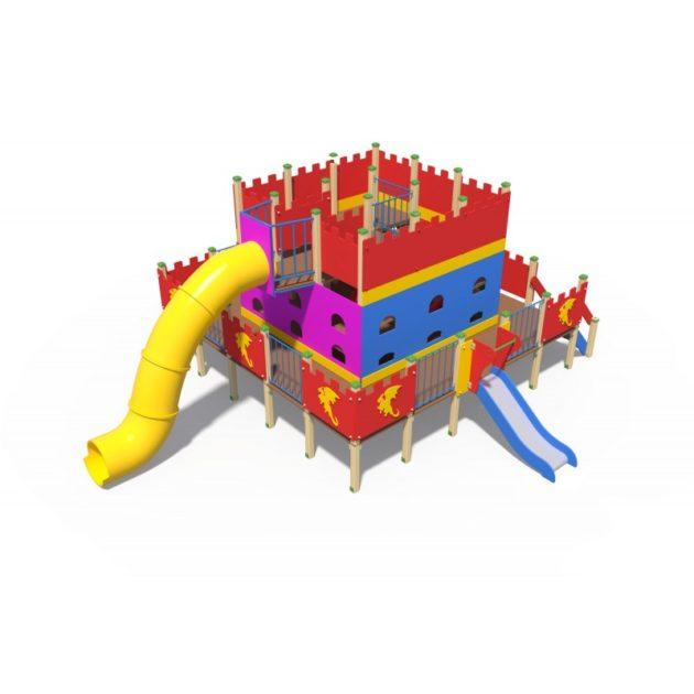 ДИО 13050 Детский игровой комплексДворец чудес Н-2000 (пластиковая труба) и Н-750