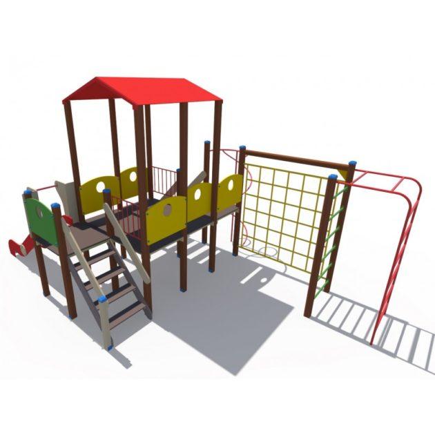 ДИО 13080 Детский игровой комплекс Викинг Н-1200