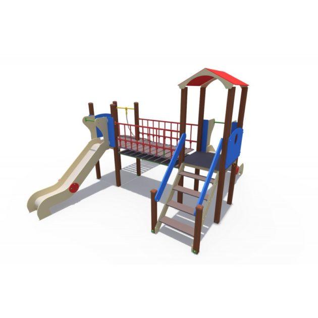 ДИО 13082 Детский игровой комплекс Норд с металлическими скатами Н-1200